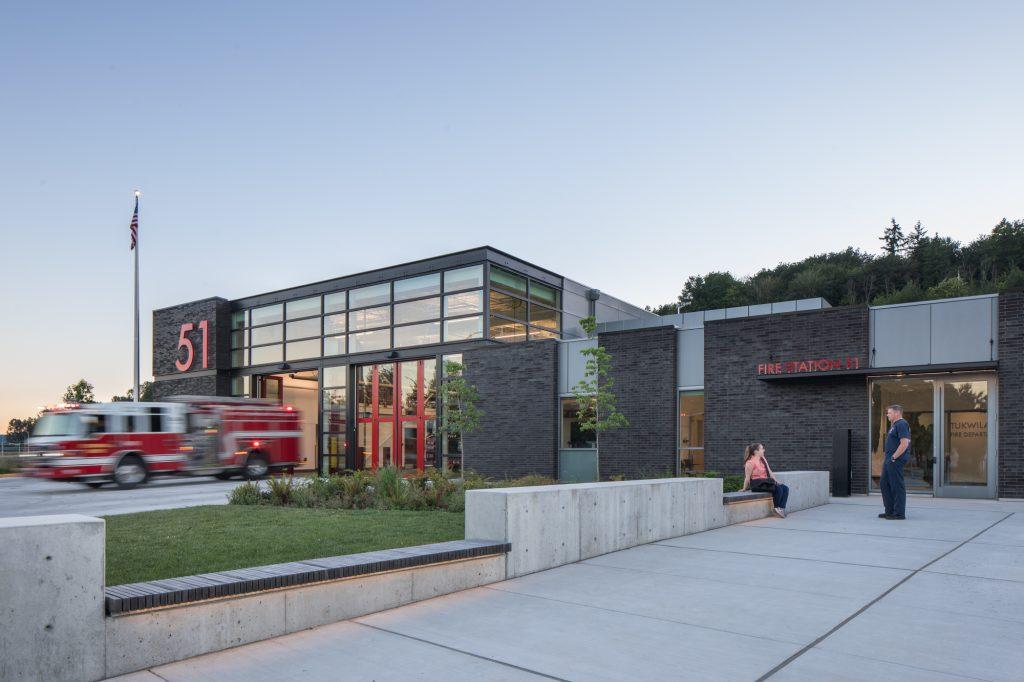 Tukwila Fire Station 51. Photo credit Lara Swimmer